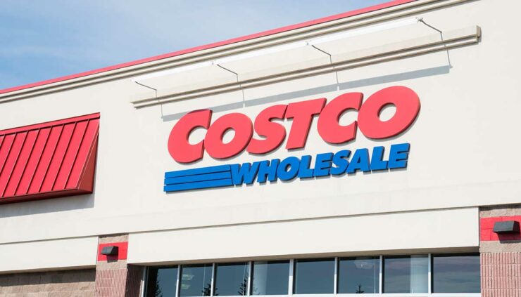 Exterior of a Costco warehouse